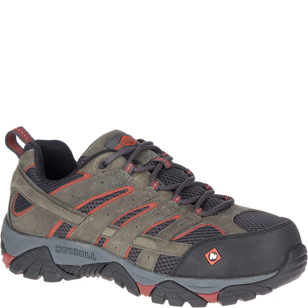 Image for Merrell Men's Moab Vertex Vent Safety Shoes - Pewter from bootbay