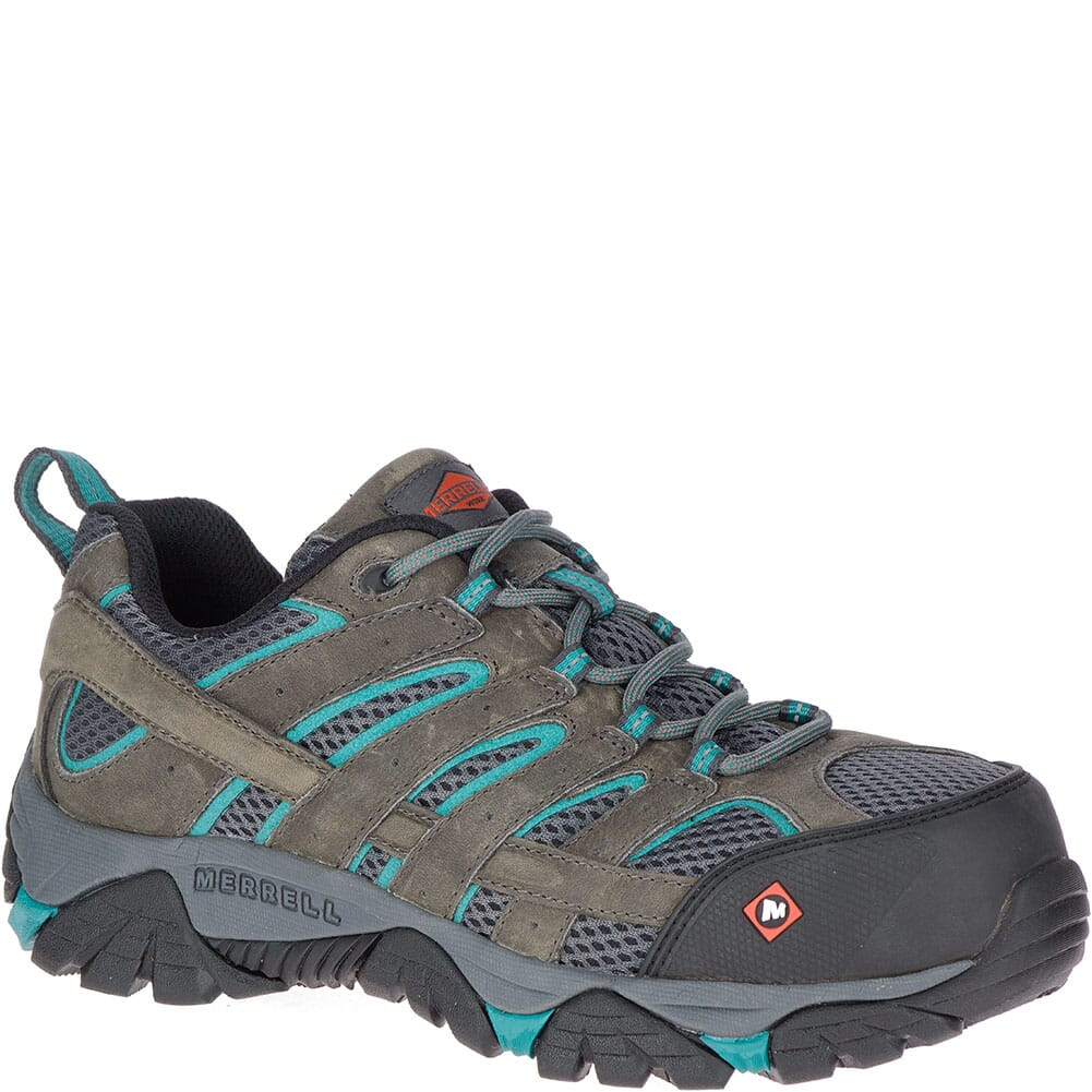 Image for Merrell Women's Moab Vertex Vent Safety Shoes - Pewter from elliottsboots