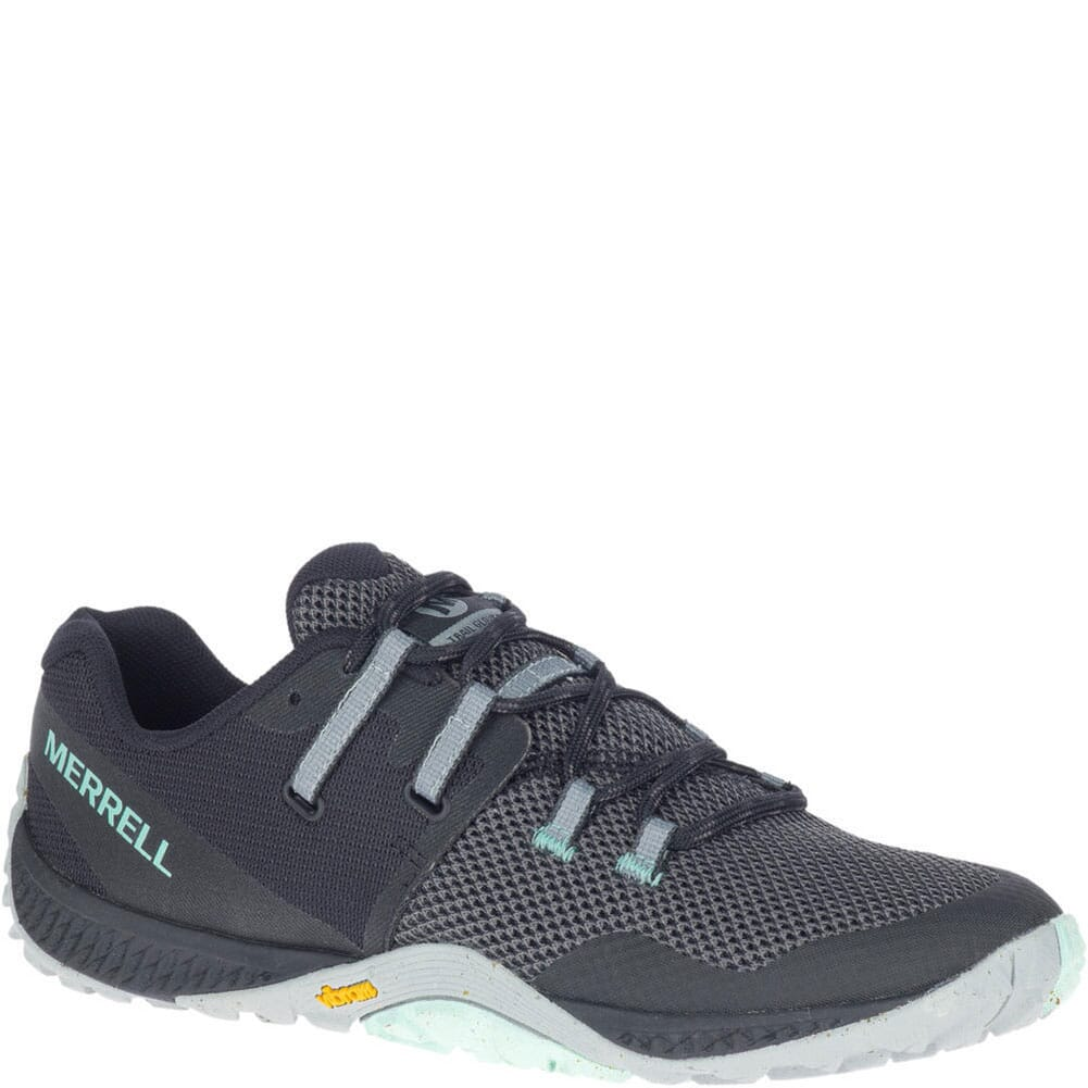Image for Merrell Women's Trail Glove 6 Eco Hiking Shoes - Black from bootbay