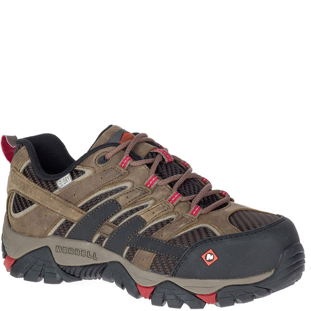 Image for Merrell Women's Moab 2 Vent WP Safety Shoes - Boulder from bootbay