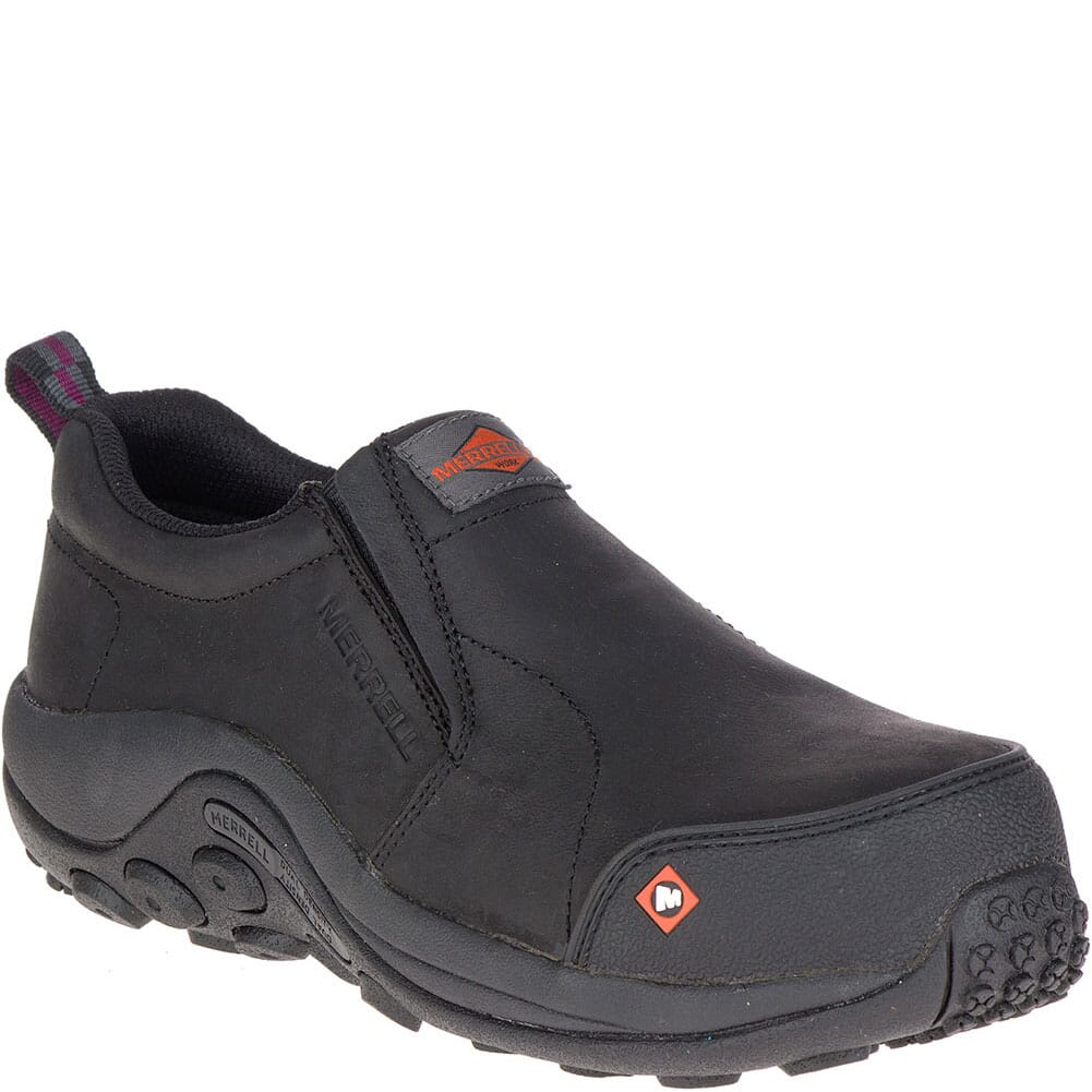Image for Merrell Women's Jungle Moc Safety Shoes - Black from bootbay