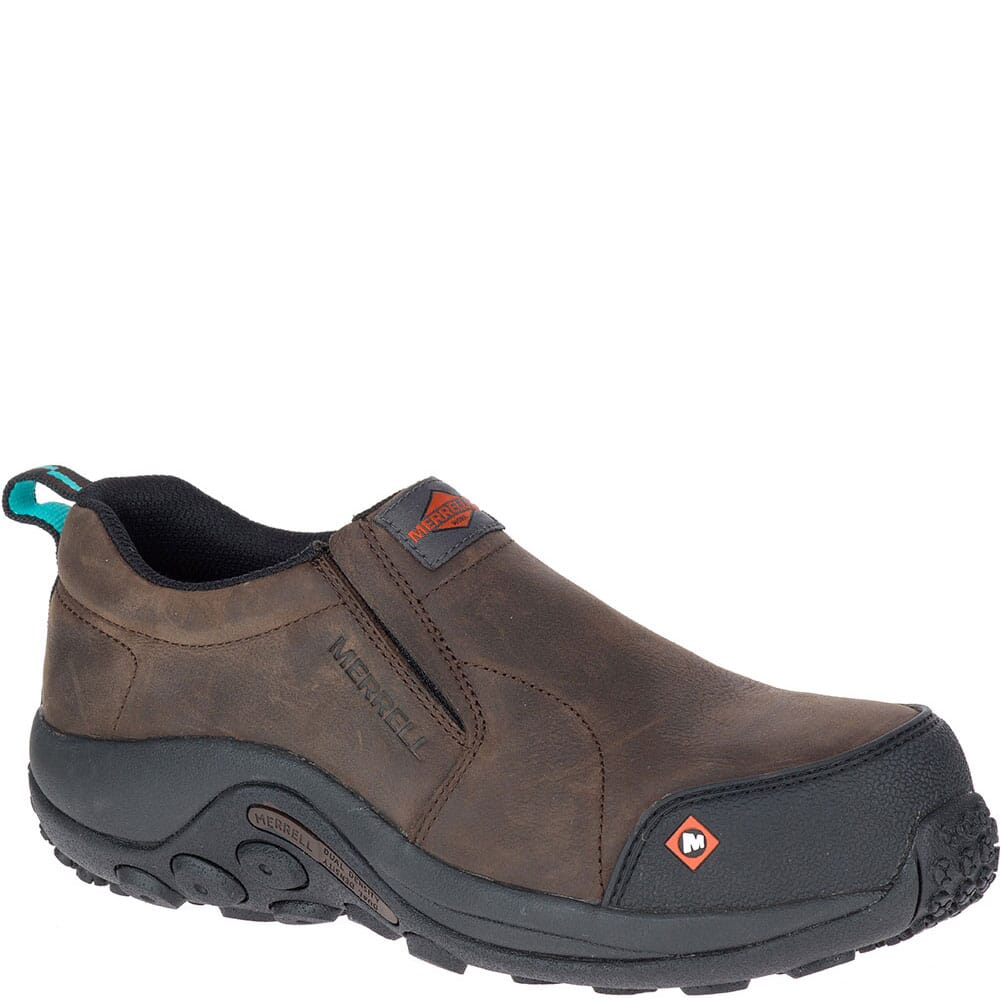 Image for Merrell Women's Jungle Moc Safety Shoes - Espresso from bootbay