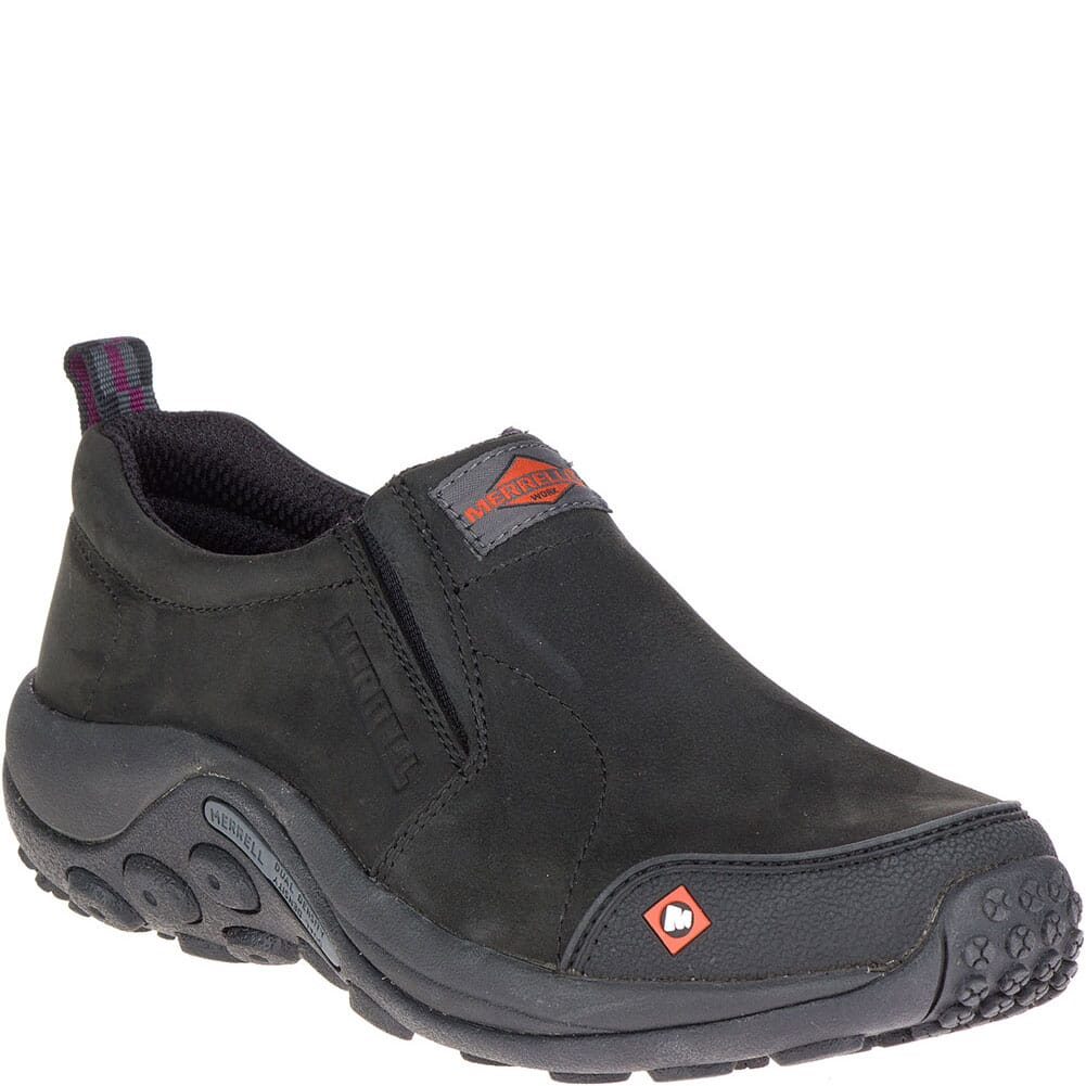 Image for Merrell Women's Jungle Moc SR Work Shoes - Black from bootbay