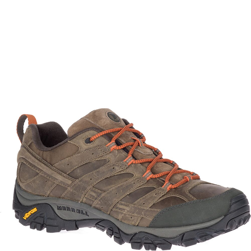 Image for Merrell Men's Moab 2 Prime Wide Hiking Shoes - Canteen from bootbay