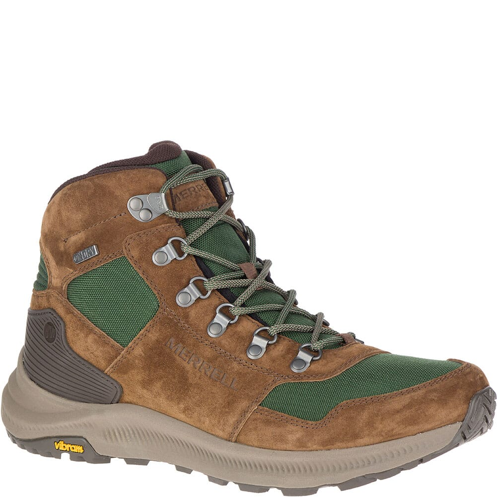 Image for Merrell Men's Ontario 85 Mid WP Hiking Boots - Forest from bootbay