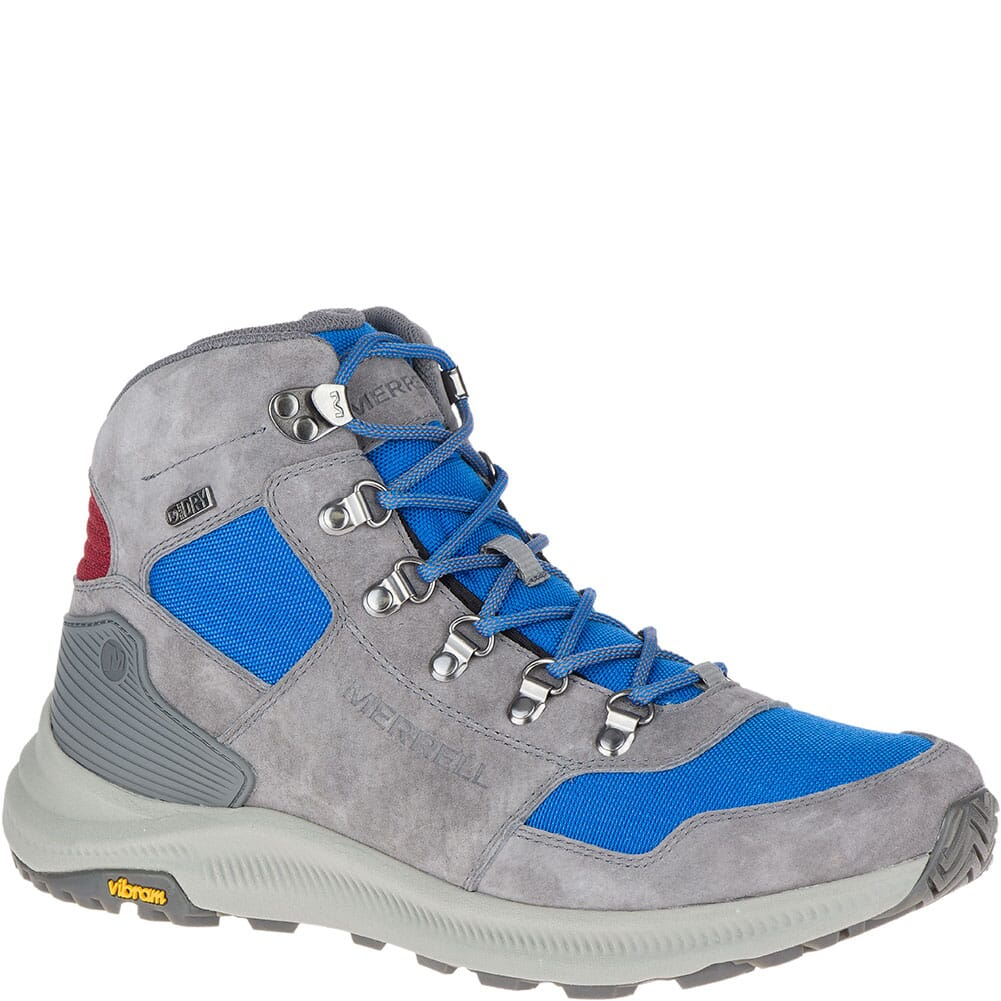 Image for Merrell Men's Ontario 85 Mid WP Hiking Boots - Imperial from bootbay