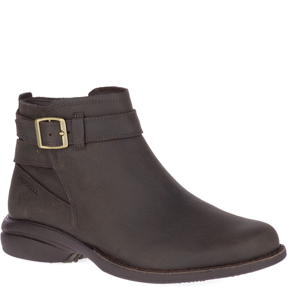 Image for Merrell Women's Andover Bluff WP Casual Boots - Espresso from bootbay