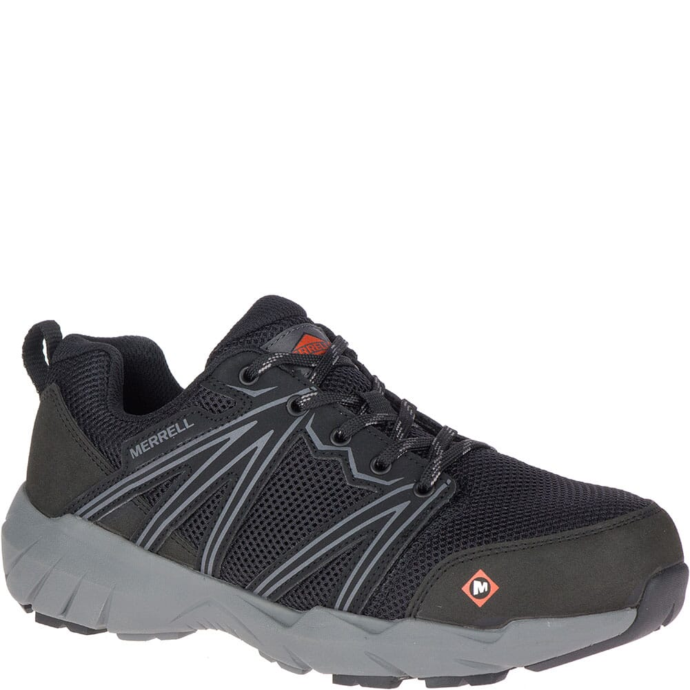 Image for Merrell Women's Fullbench Superlite Safety Shoes - Black from bootbay