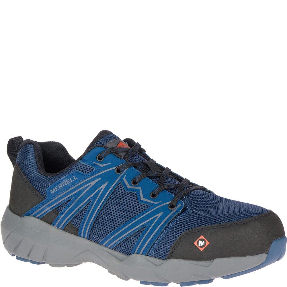 Image for Merrell Men's Fullbench Superlite Safety Shoes - Blue from bootbay