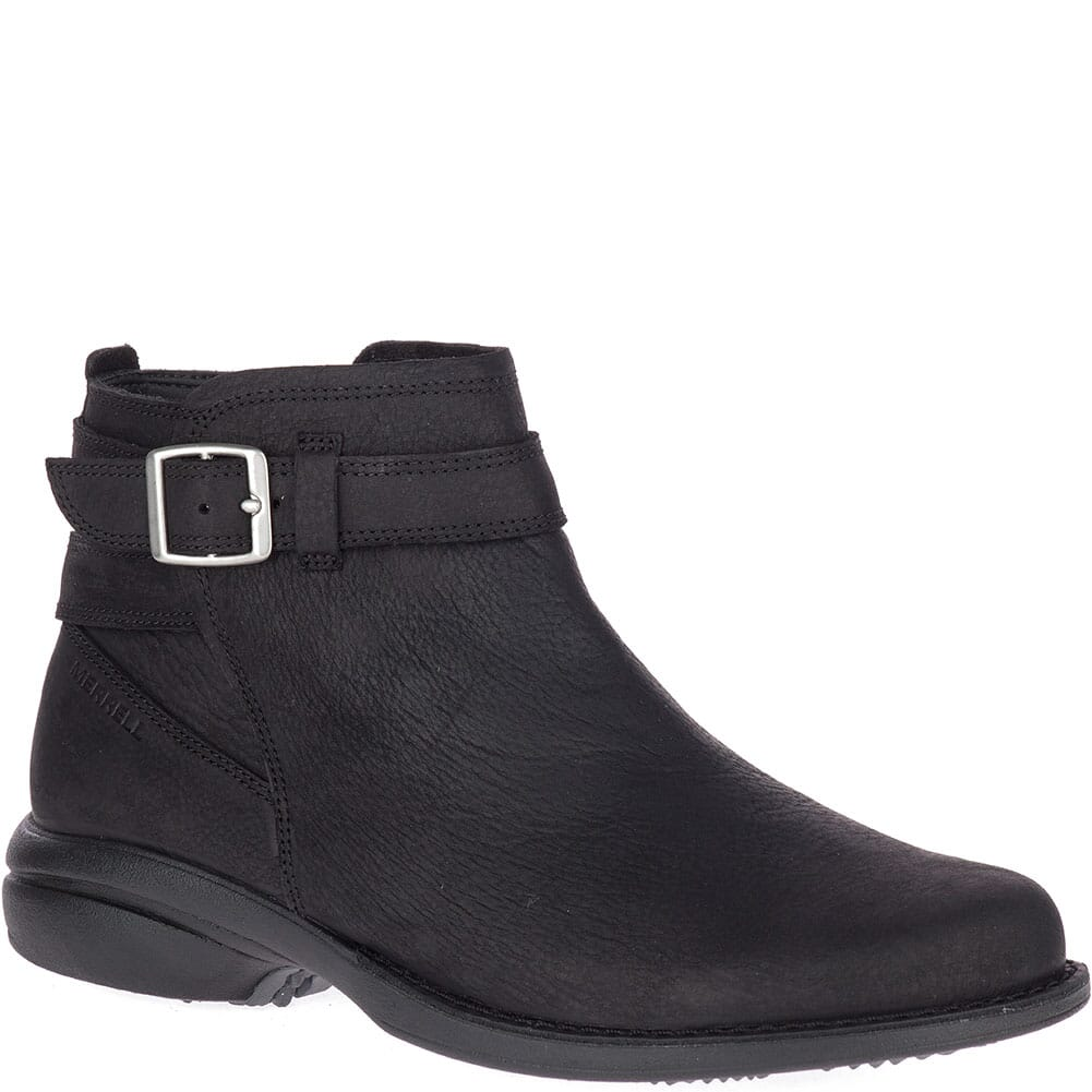 Image for Merrell Women's Andover Bluff WP Casual Boots - Black from bootbay