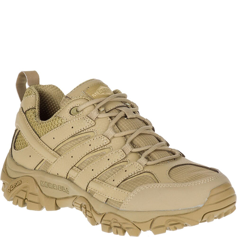 Image for Merrell Women's Moab 2 Tactical Shoes - Coyote from elliottsboots