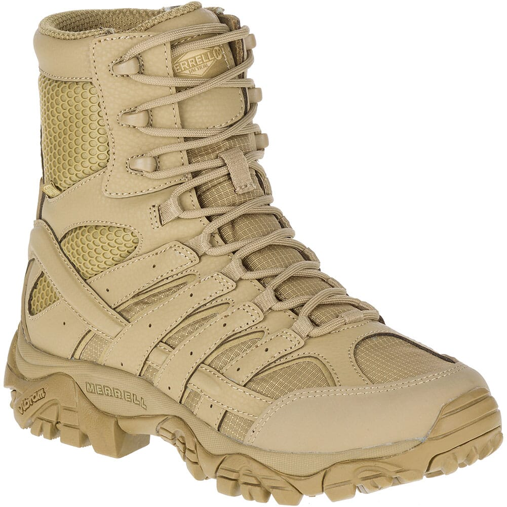 Image for Merrell Women's Moab 2 WP Tactical Boots - Coyote from elliottsboots
