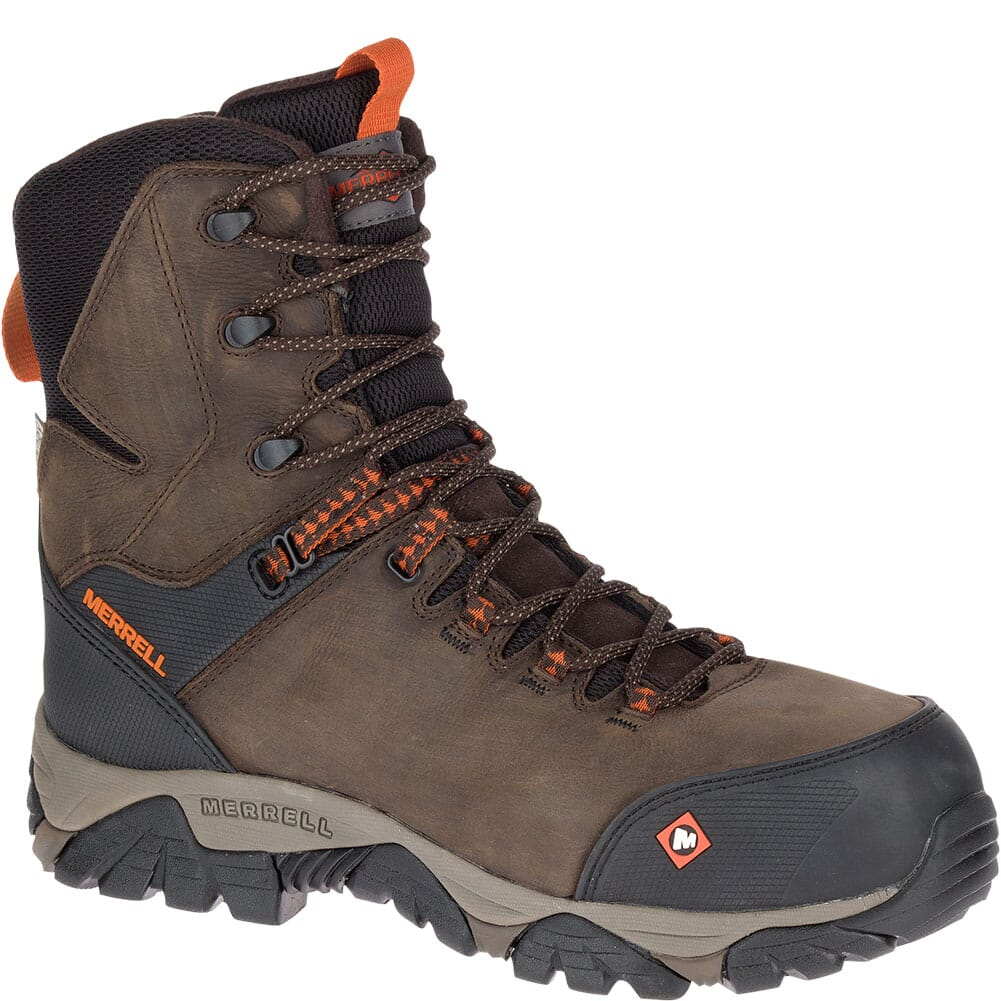 Image for Merrell Men's Phaserbound Thermo WP Safety Boots - Espresso from bootbay