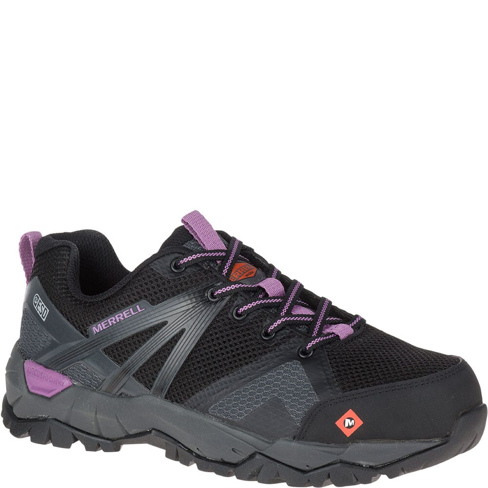 Image for Merrell Women's Fullbench 2 SD Safety Shoes - Black from elliottsboots
