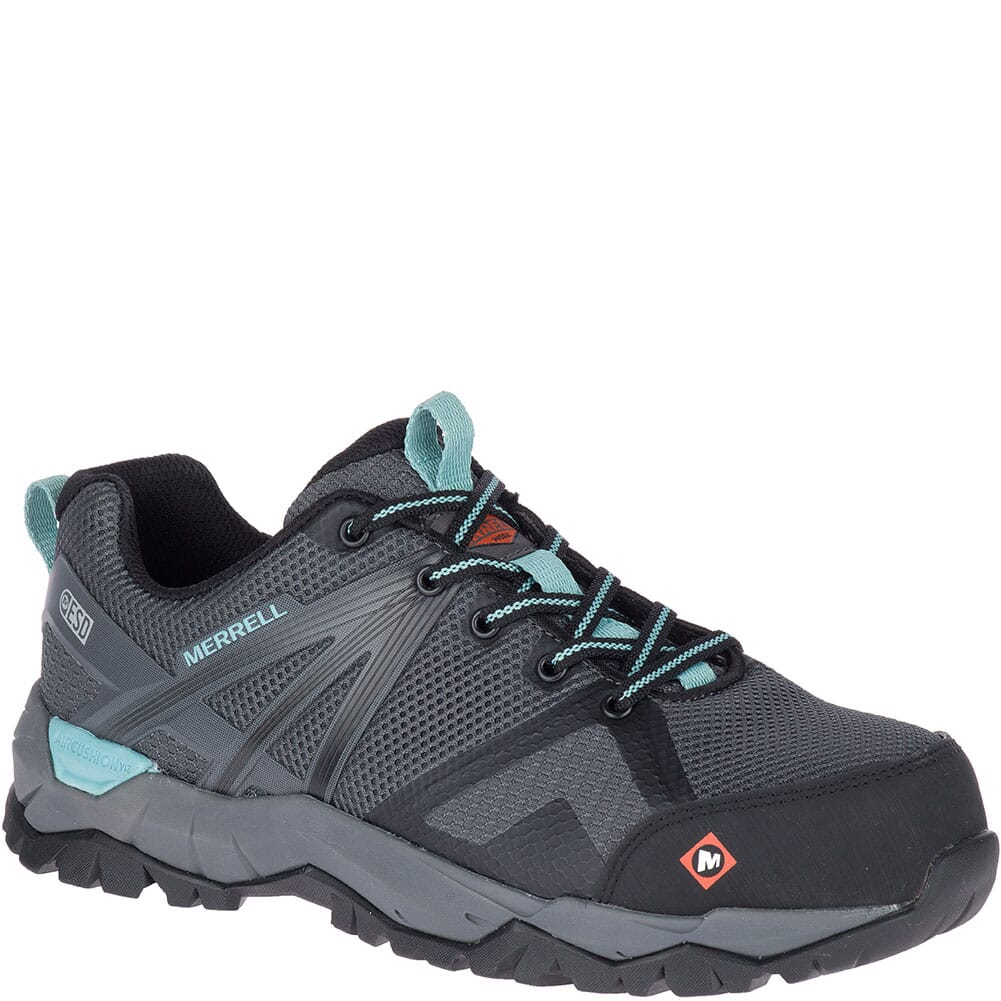 Image for Merrell Women's Fullbench 2 SD Safety Shoes - Castle Rock from bootbay