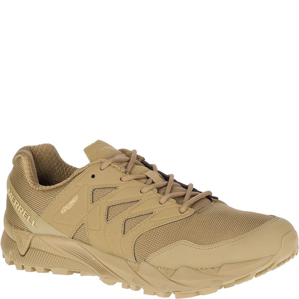Image for Merrell Women's Agility Peak Tactical Shoes - Coyote from bootbay