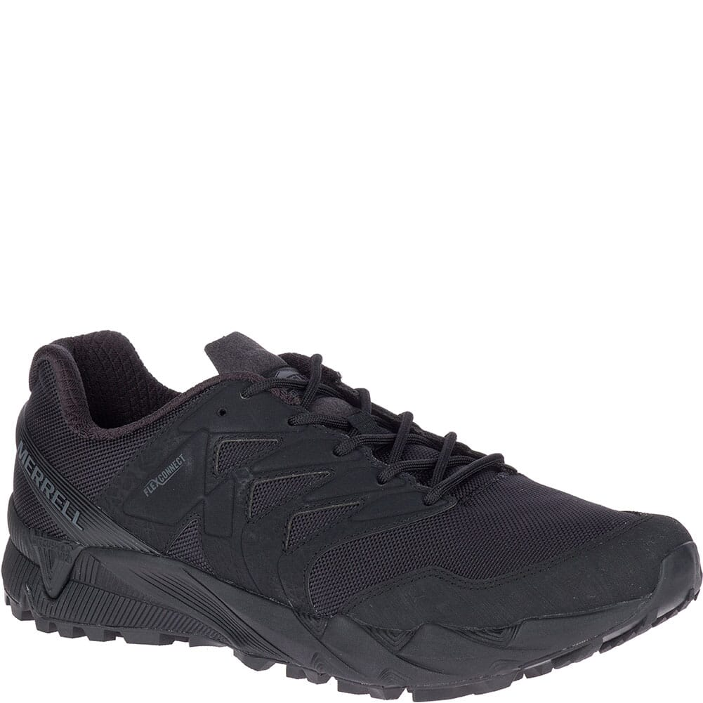 Image for Merrell Women's Agility Peak Tactical Shoes - Black from elliottsboots