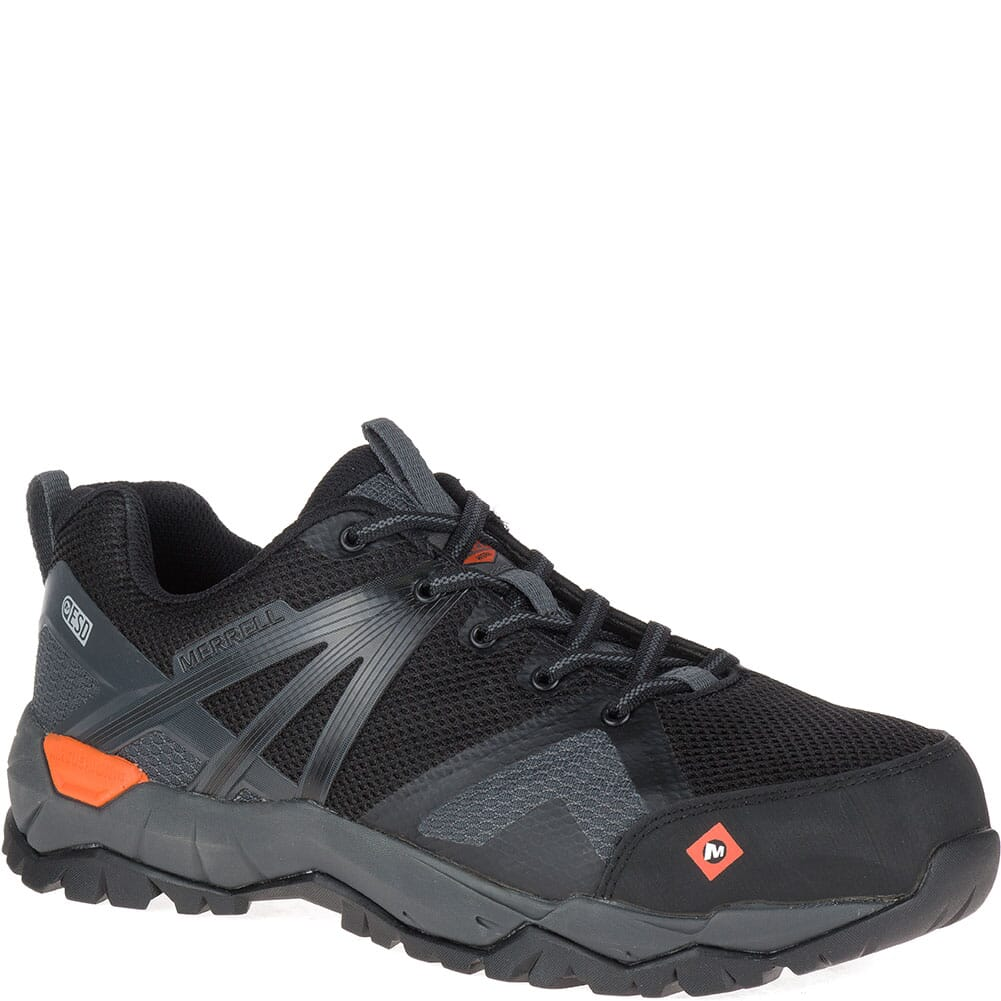 Image for Merrell Men's Fullbench 2 SD Safety Shoes - Black from bootbay