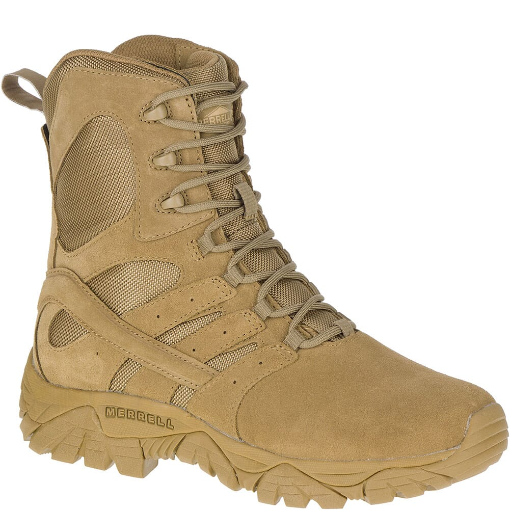 Image for Merrell Women's Moab 2 Tactical Defense Boots - Coyote from elliottsboots