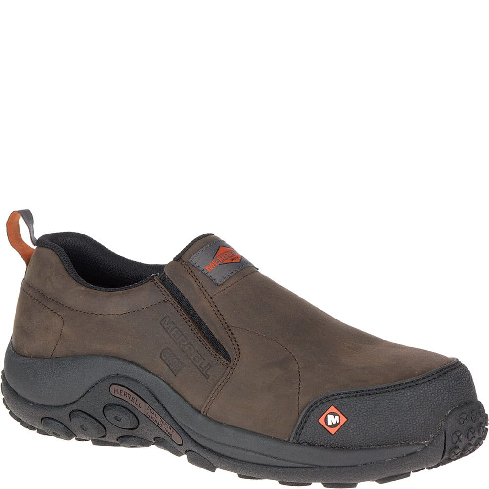 Image for Merrell Men's Jungle Moc ESD Wide Safety Shoes - Espresso from bootbay
