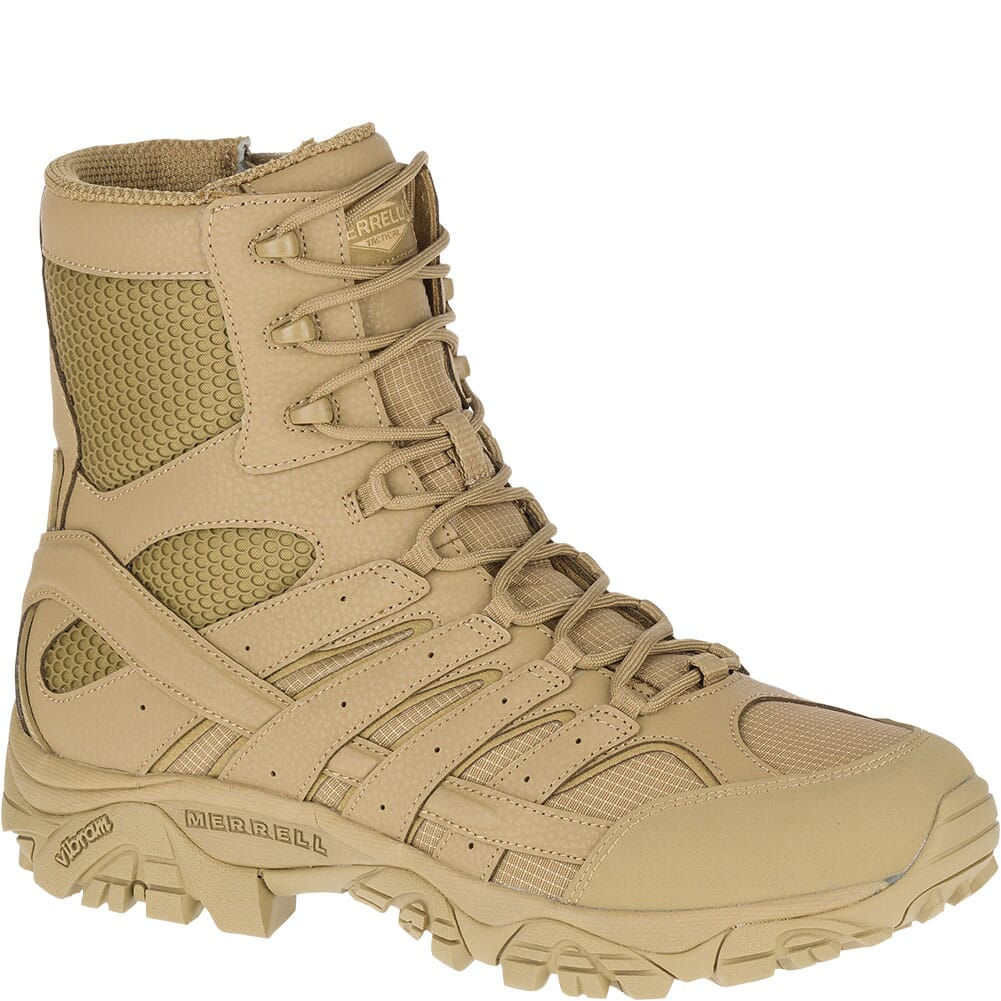 Image for Merrell Men's Moab 2 Wide Tactical Boots - Coyote from bootbay