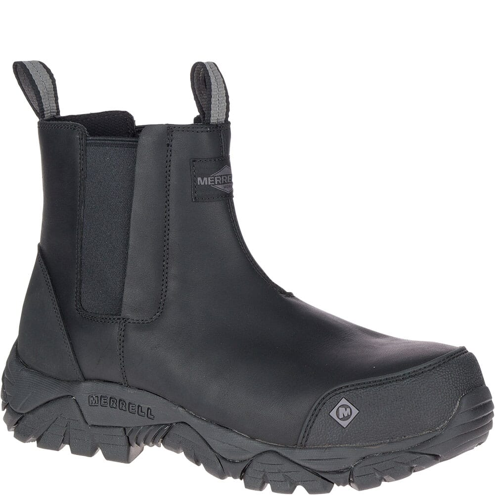 Image for Merrell Men's Moab Rover Wide Safety Boots - Black from bootbay