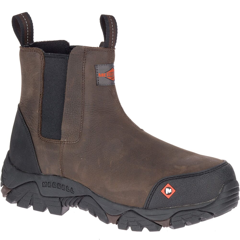 Image for Merrell Men's Moab Rover Wide Safety Boots - Espresso from bootbay