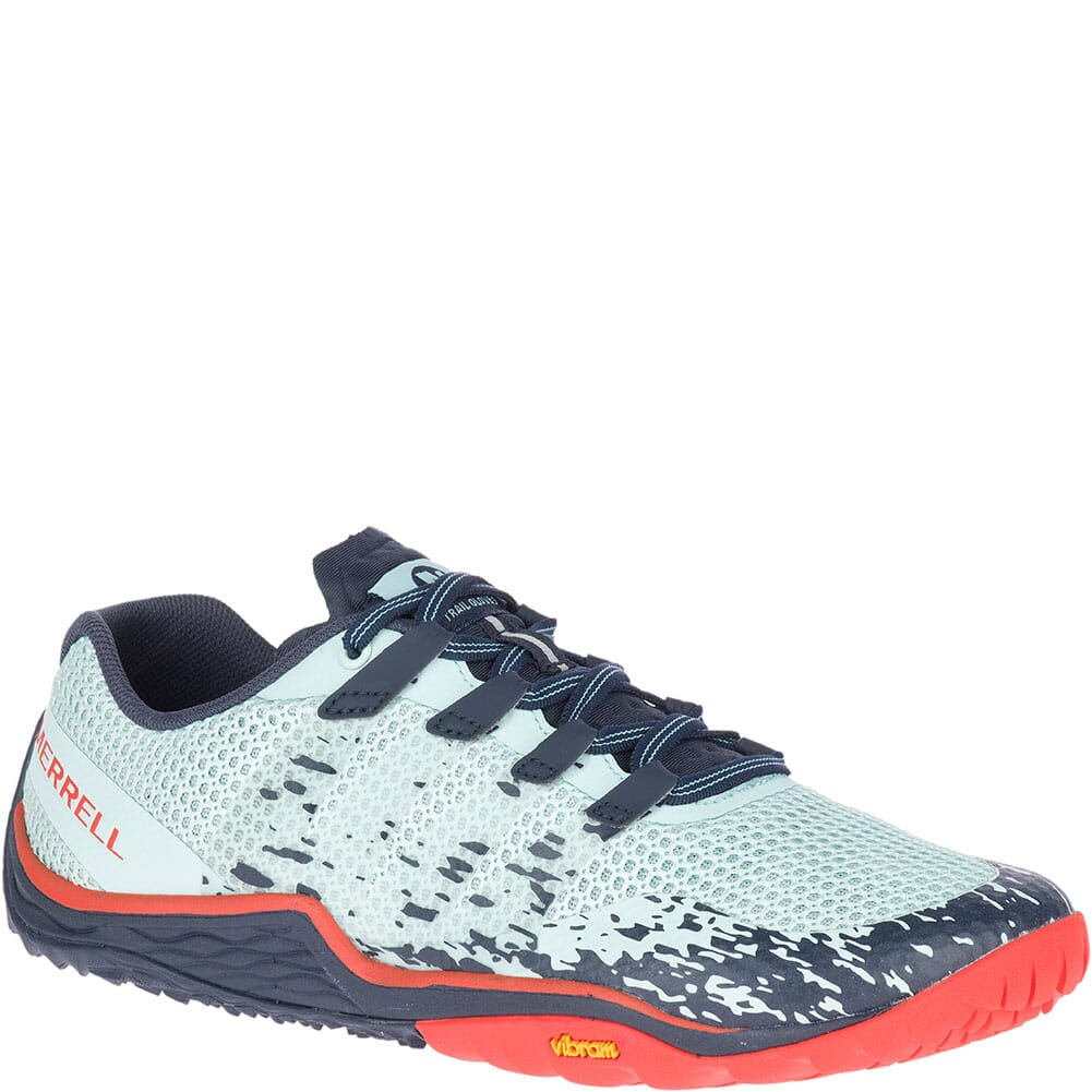 Image for Merrell Women's Trail Glove 5 Athletic Shoes - Aqua from elliottsboots
