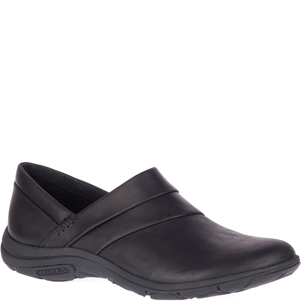 Image for Merrell Women's Dassie Stitch Wide Casual Shoes - Black from bootbay