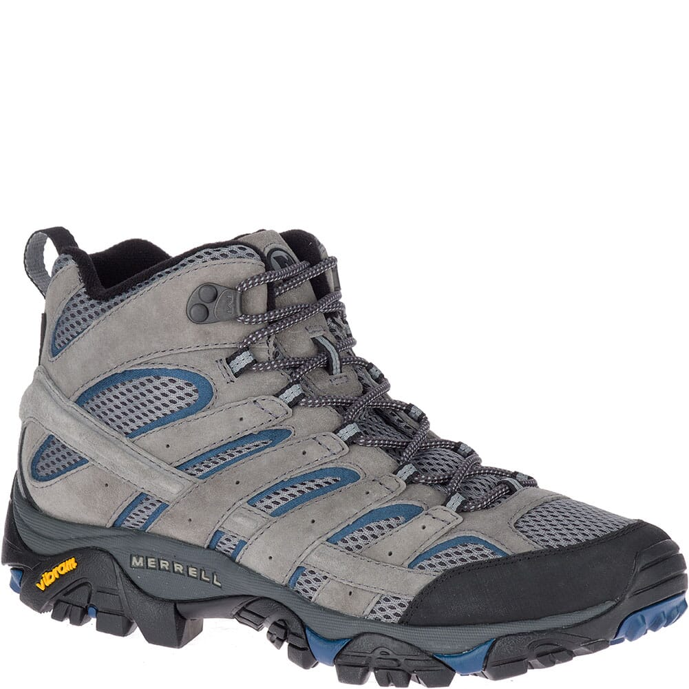 Image for Merrell Men's Moab 2 Mid Ventilator Hiking Boots - Castle/Wing from bootbay