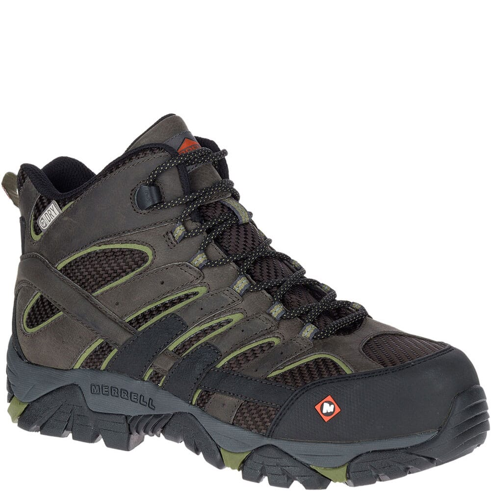 Image for Merrell Men's Moab 2 Vent Wide Safety Boots - Pewter from bootbay