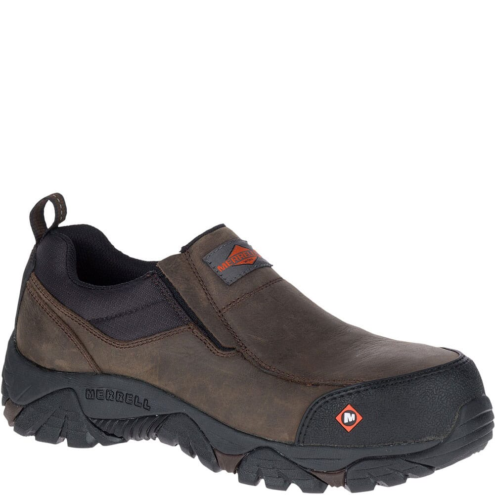 Image for Merrell Men's Moab Rover Wide Safety Shoes - Espresso from bootbay