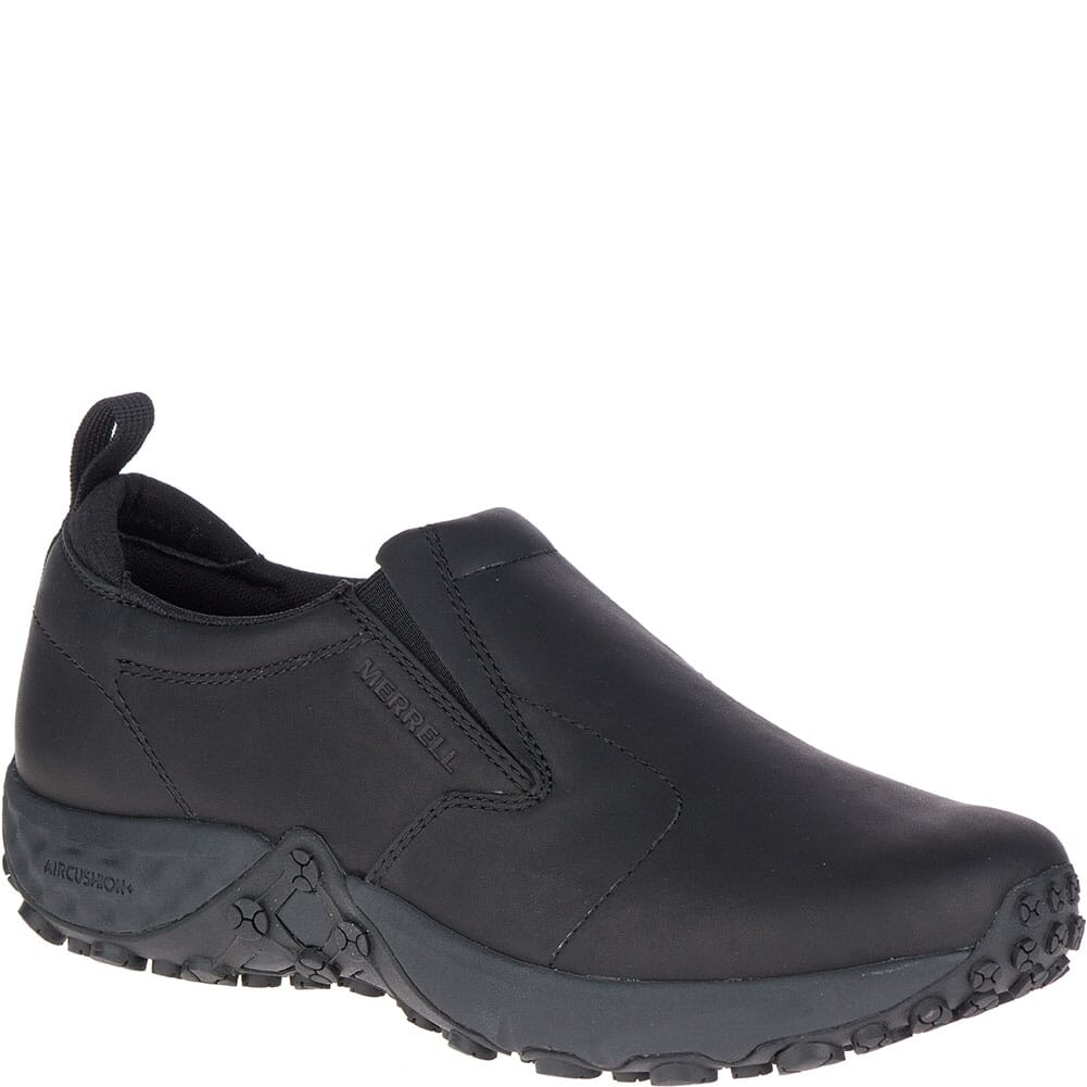 Image for Merrell Men's Jungle Moc AC+ Pro Work Shoes - Black from bootbay