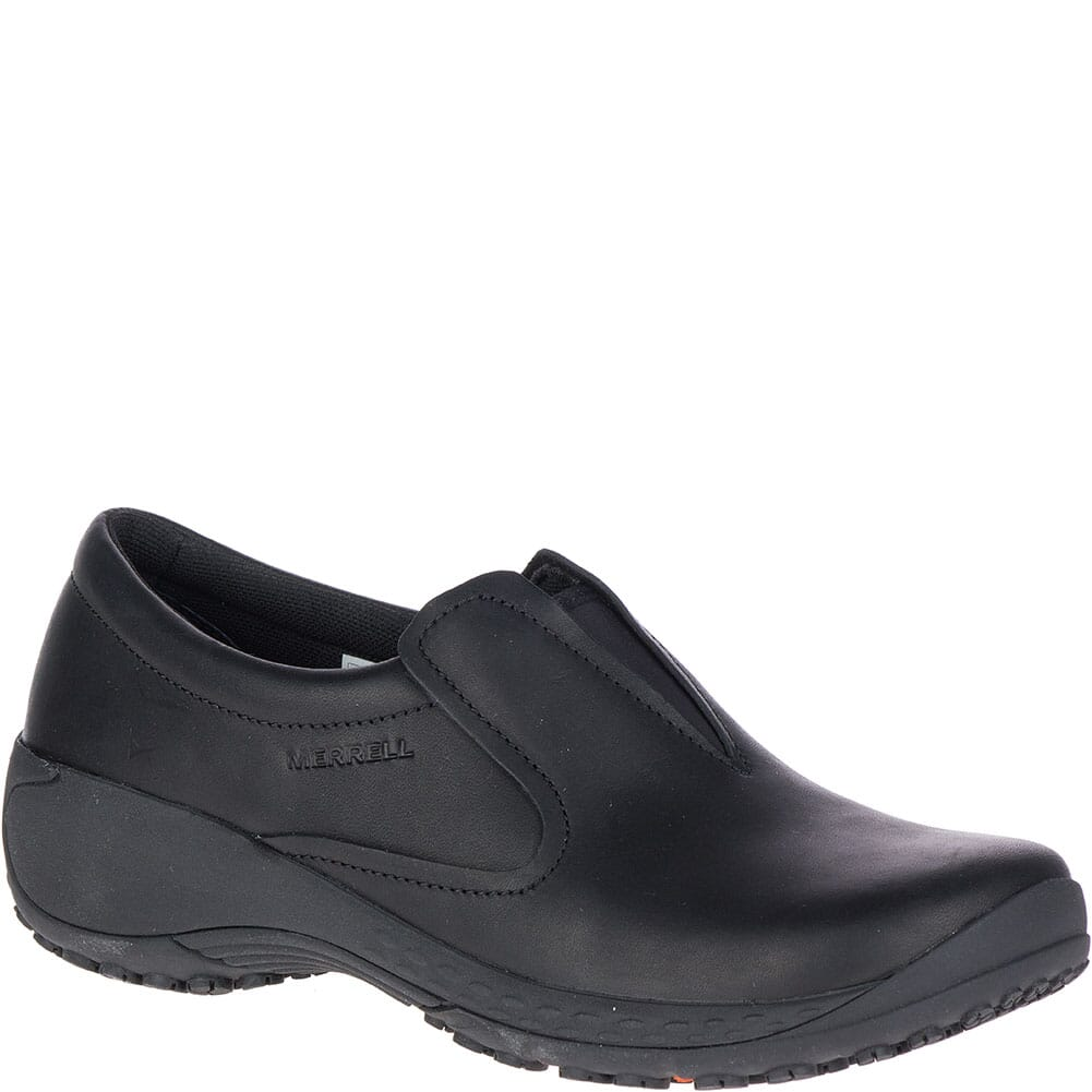 Image for Merrell Women's Encore Moc Q2 Pro Work Shoes - Black from elliottsboots