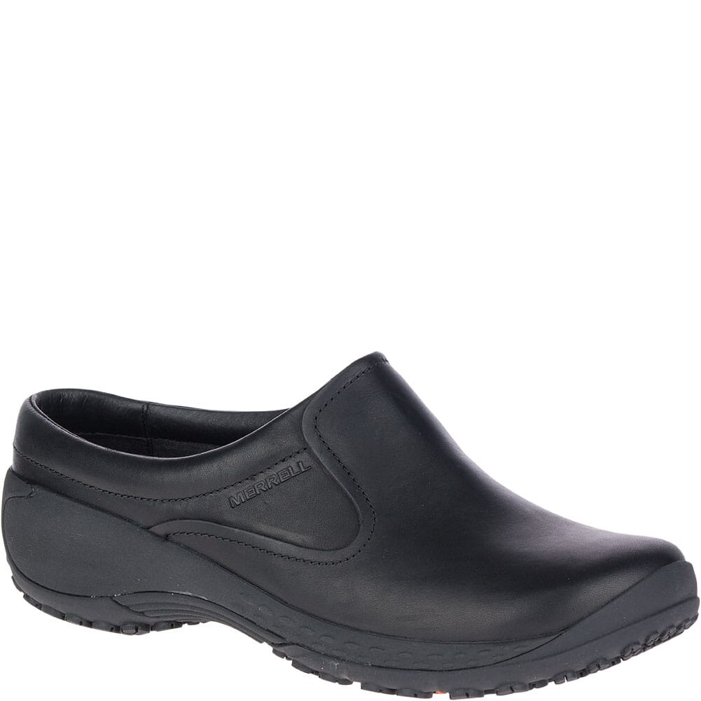 Image for Merrell Women's Encore Moc Q2 Pro Work Slides - Black from bootbay