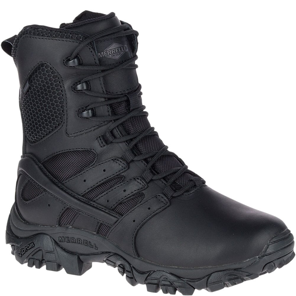 Image for Merrell Women's Moab 2 Response WP Uniform Boots - Black from elliottsboots