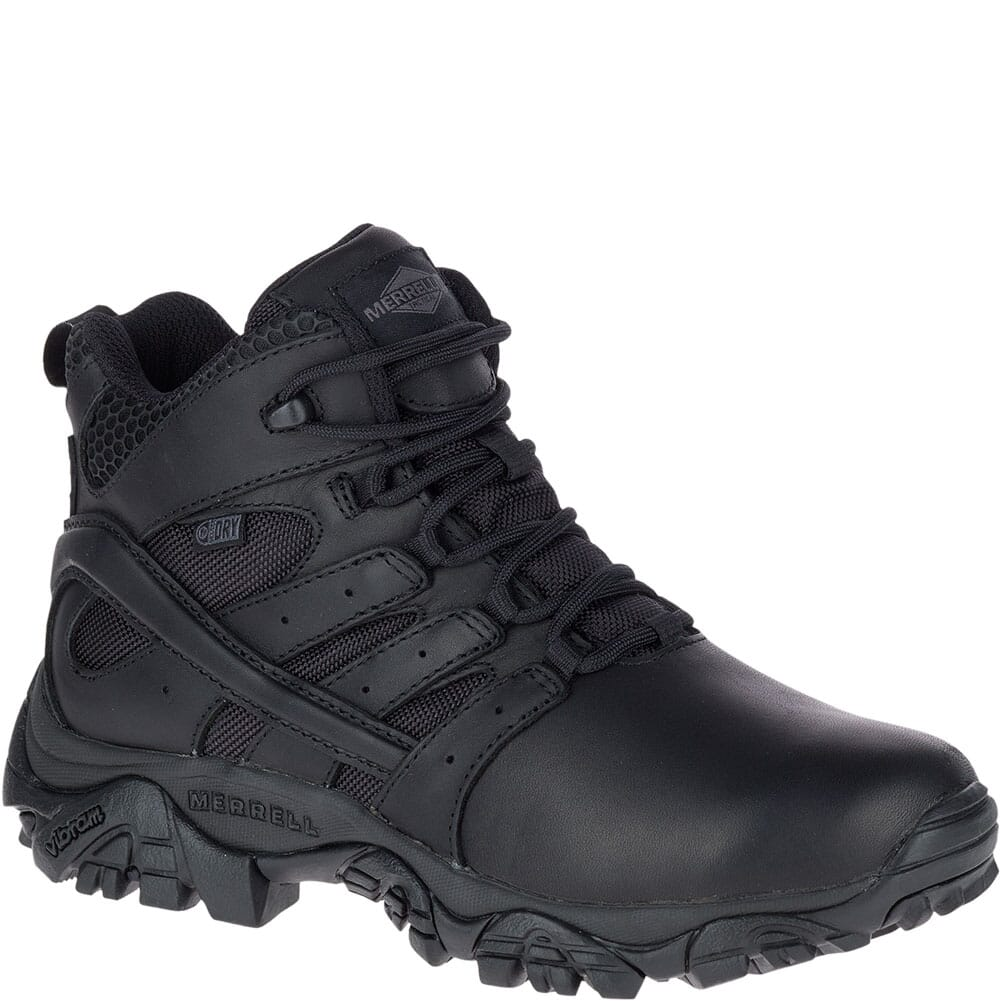 Image for Merrell Women's Moab 2 Tactical Response WP Uniform Boots - Black from bootbay