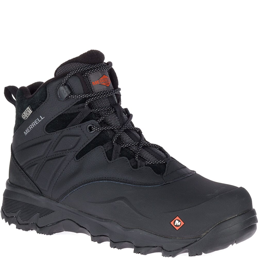 Image for Merrell Men's Thermo Adventure Ice+ WP Safety Boots - Black from bootbay