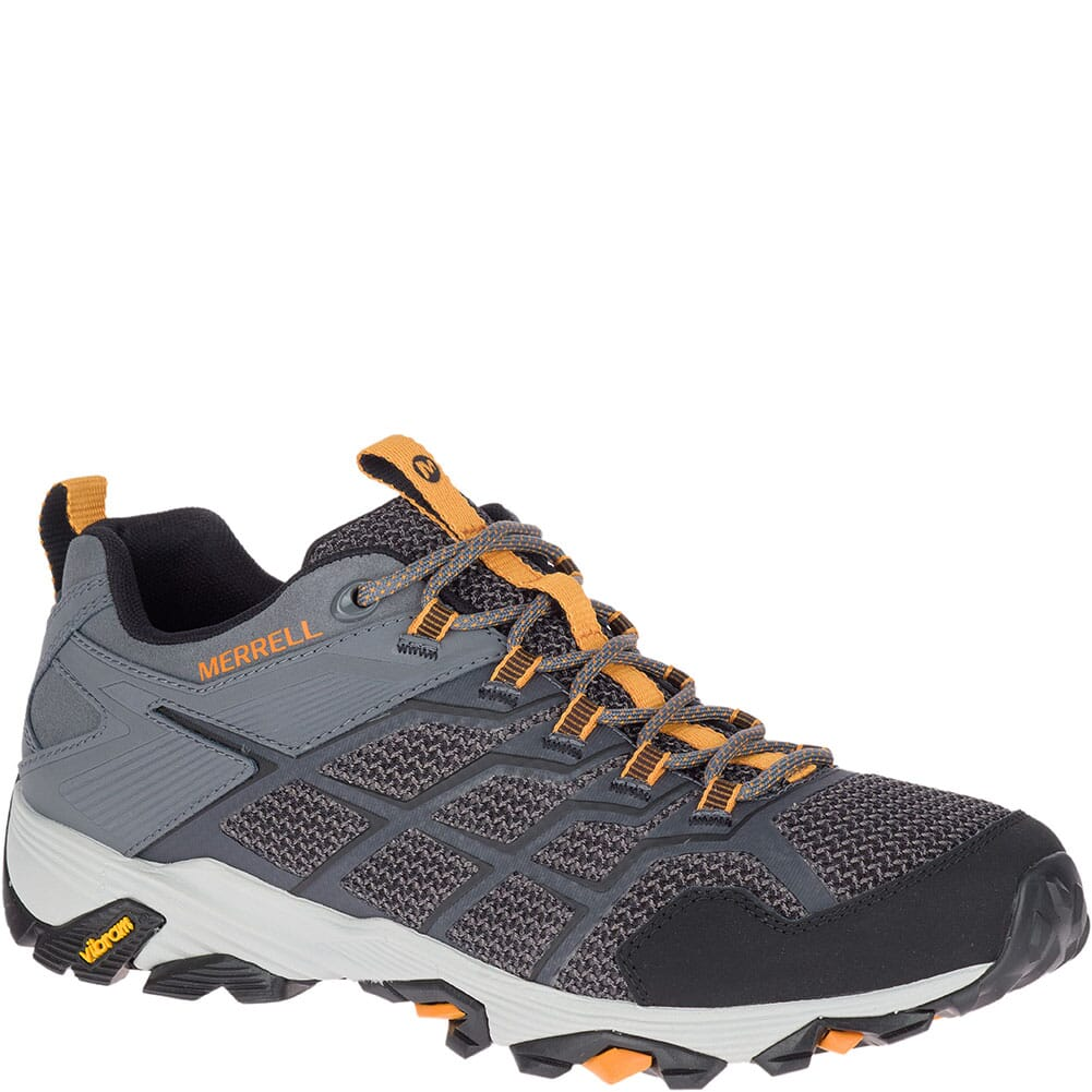 Image for Merrell Men's Moab FST 2 Hiking Shoes - Castle/Flame from bootbay