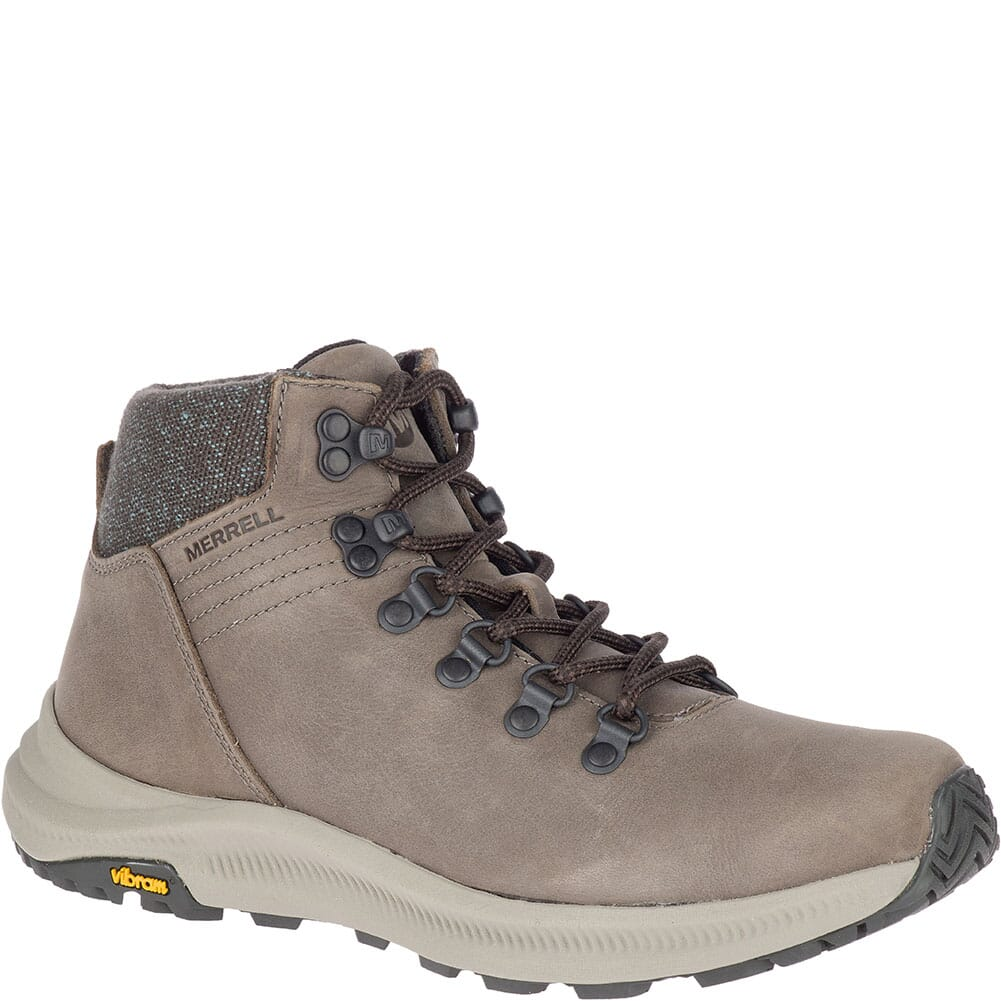 Image for Merrell Women's Ontario Mid Hiking Boots - Boulder from elliottsboots