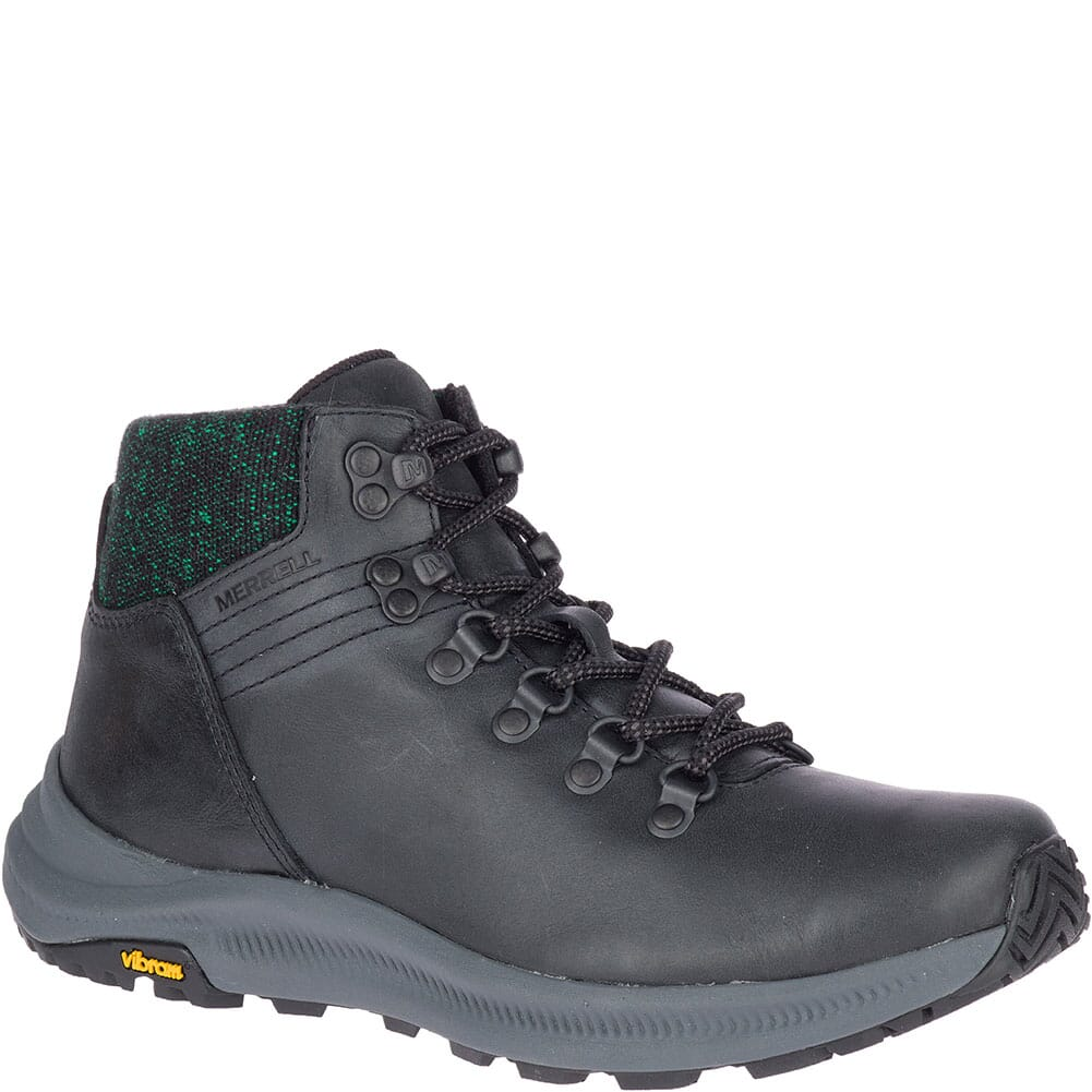 Image for Merrell Women's Ontario Mid Hiking Boots - Black from elliottsboots