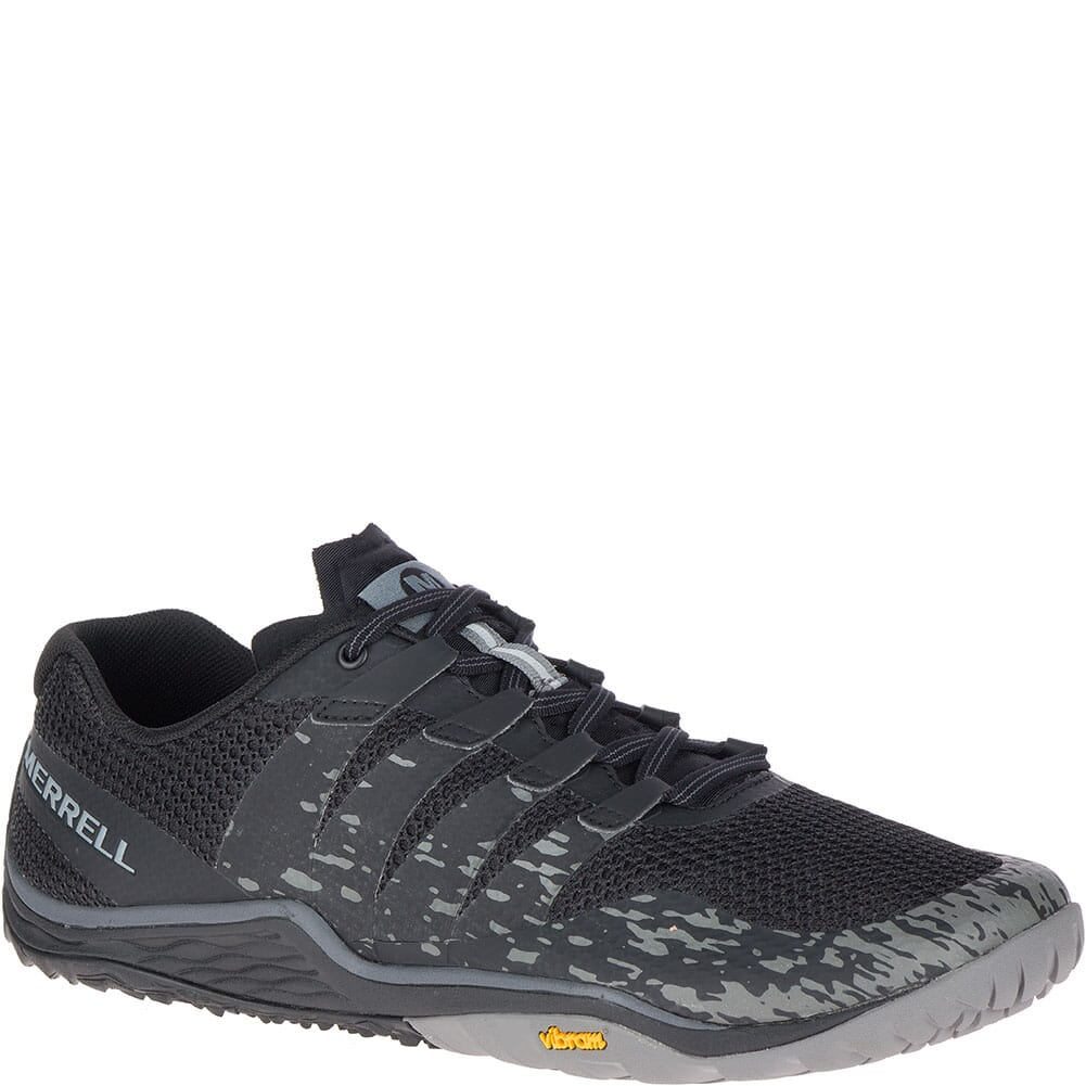 Image for Merrell Men's Trail Glove 5 Athletic Shoes - Black from bootbay