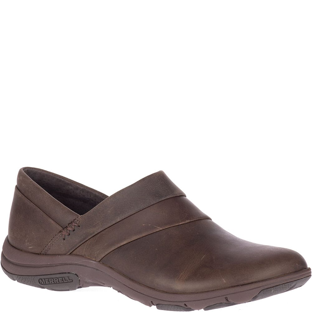 Image for Merrell Women's Dassie Stitch casual Shoes - Espresso from bootbay