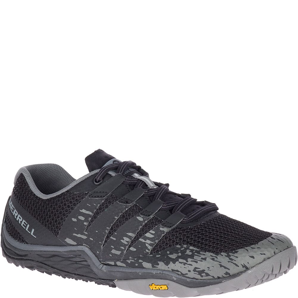 Image for Merrell Women's Trail Glove 5 Athletic Shoes - Black from elliottsboots