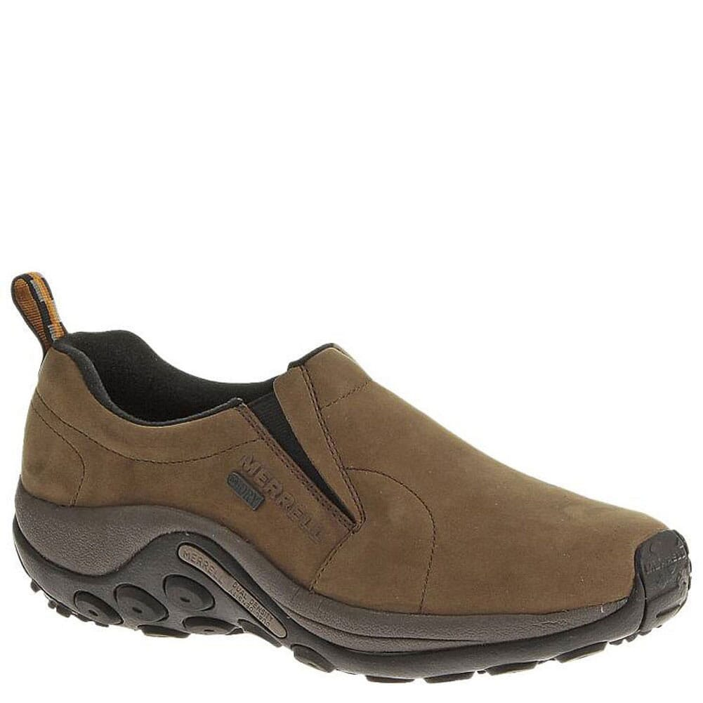 Image for Merrell Men's Jungle Moc WP Wide Casual Shoes - Brown from bootbay