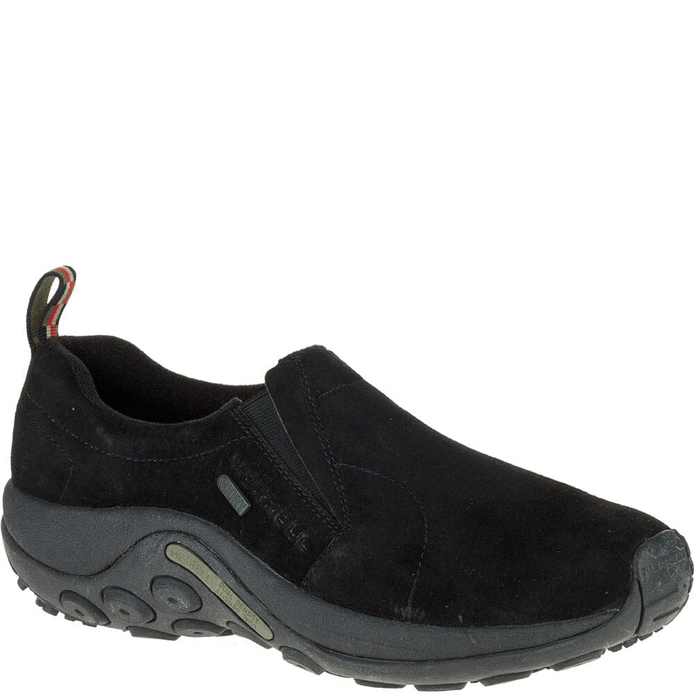 Image for Merrell Men's Jungle Moc WP Casual Shoes - Black from bootbay