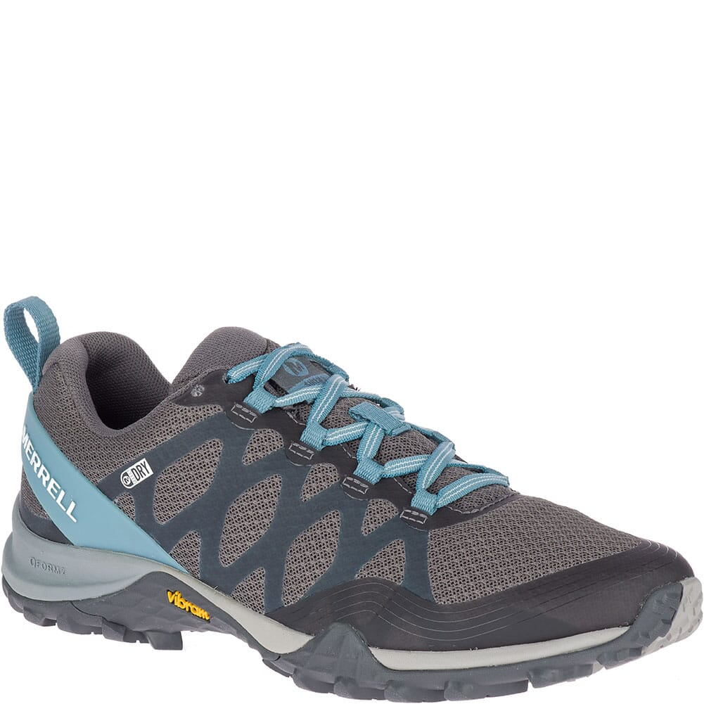 Image for Merrell Women's Siren 3 WP Hiking Shoes - Blue Smoke from elliottsboots