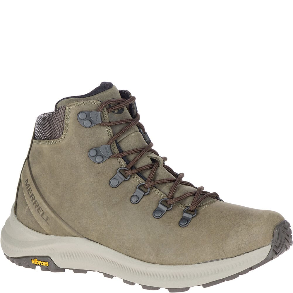 Image for Merrell Men's Ontario Mid Hiking Boots - Olive from bootbay