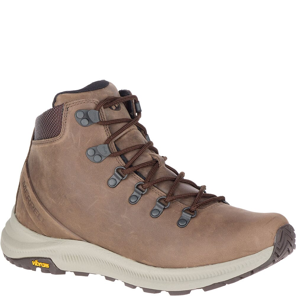 Image for Merrell Men's Ontario Mid Hiking Boots - Dark Earth from bootbay