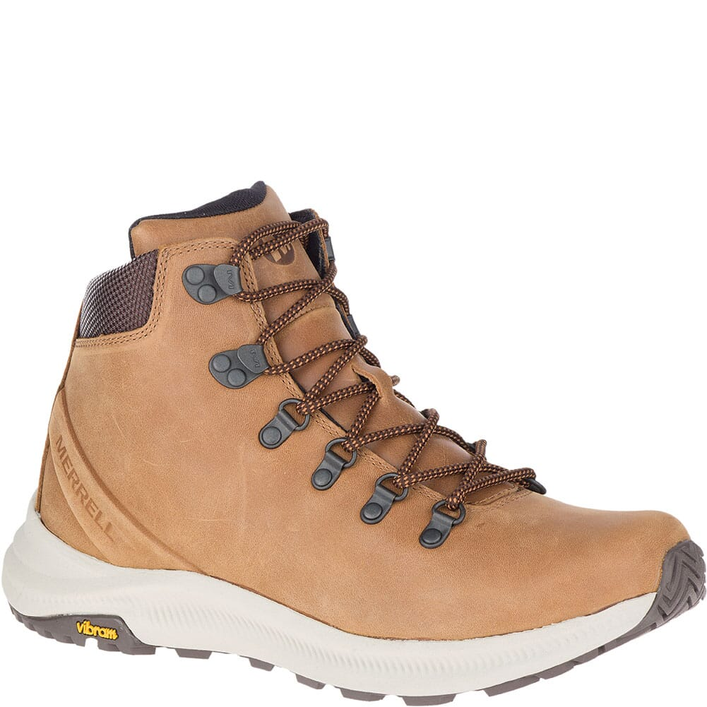 Image for Merrell Men's Ontario Mid Hiking Boots - Brown Sugar from bootbay
